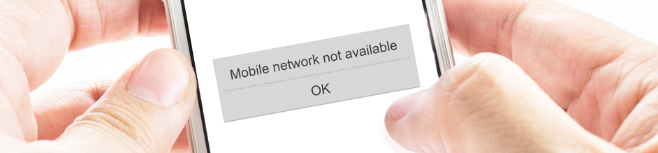 no network