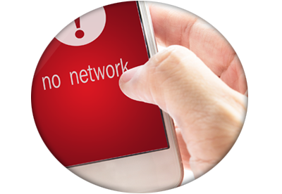 no network o