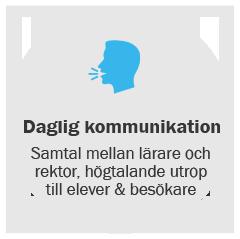 skola daglig kommunikation