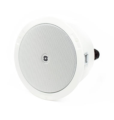 Network connected ceiling loudspeaker