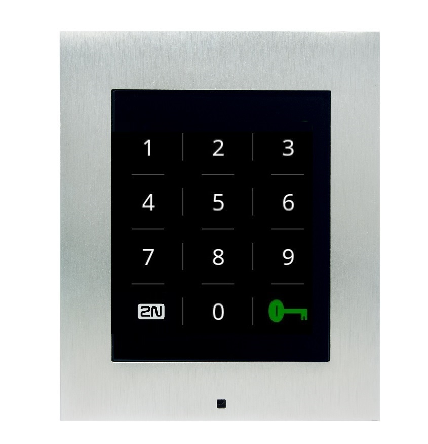 Access unit touch keypad