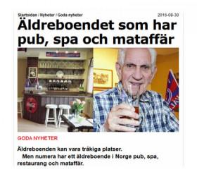 När man läser det här vill man bli gammal i Norge