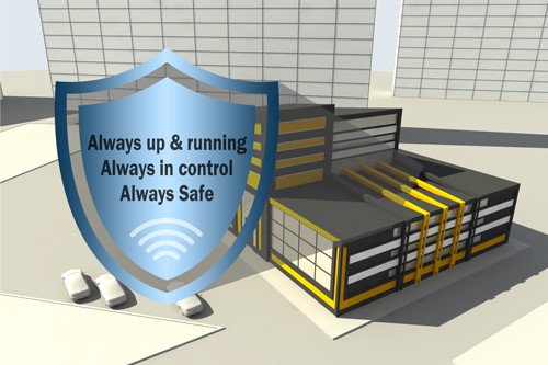 Dedicated wireless network, exclusive for your enterprise!