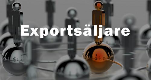 Ledig tjänst - Exportsäljare