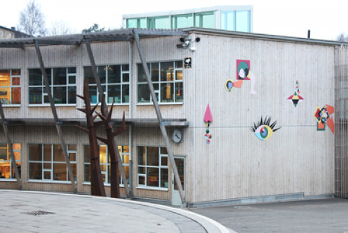 Voice evacuation system to Swedish School