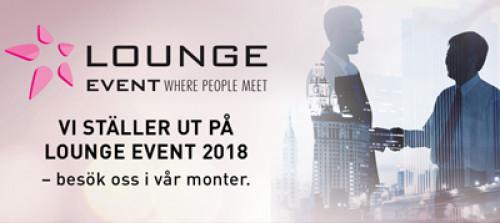 COBS ställer ut på Lounge Event 2018