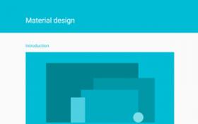 Material Design - bra tips för snygga och tydliga appar
