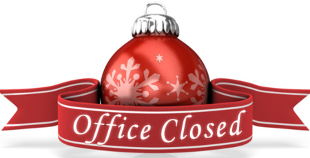 COBS closed during Christmas & New Year