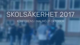 Möt oss på Skolsäkerhet 2017 i Malmö