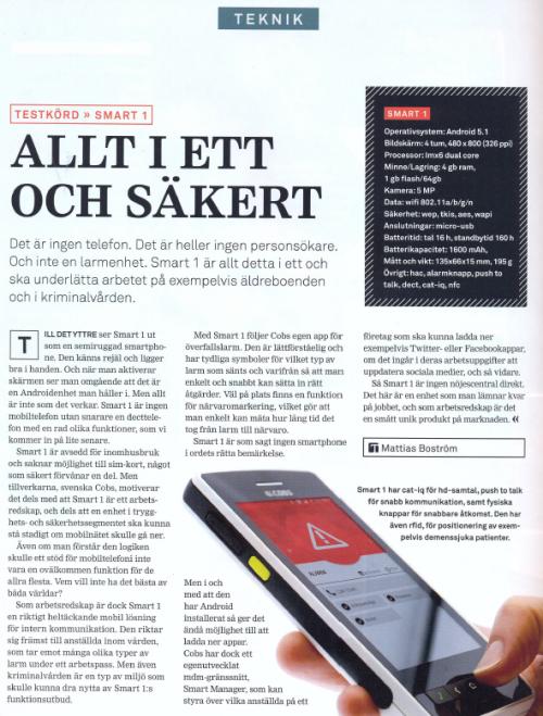 SMART1 i Telekomidag