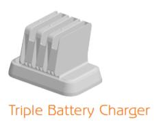 Pivot S: Triple Battery Charger
